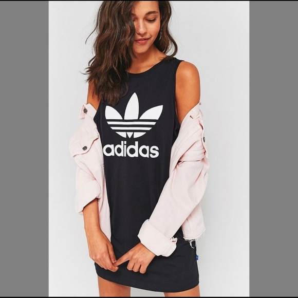 639a2bf045f5 adidas Dresses   Skirts - Adidas Originals Trefoil Tank Dress
